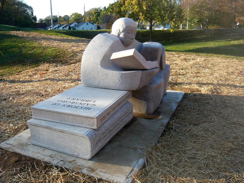 The Reading Garden by Madeline Wiener