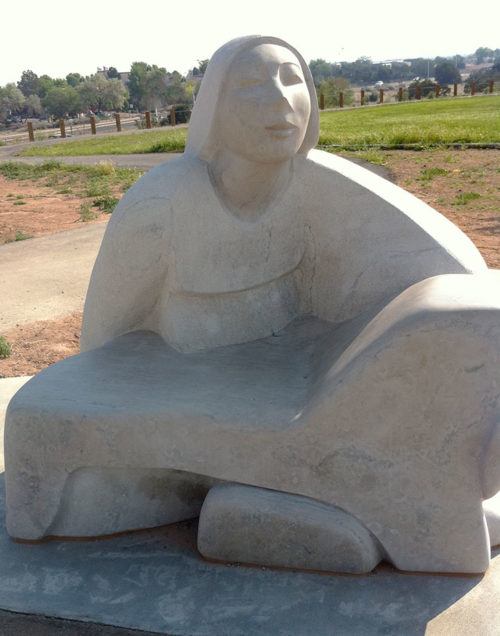 The Matriarch represents the birth of Santa Fe.